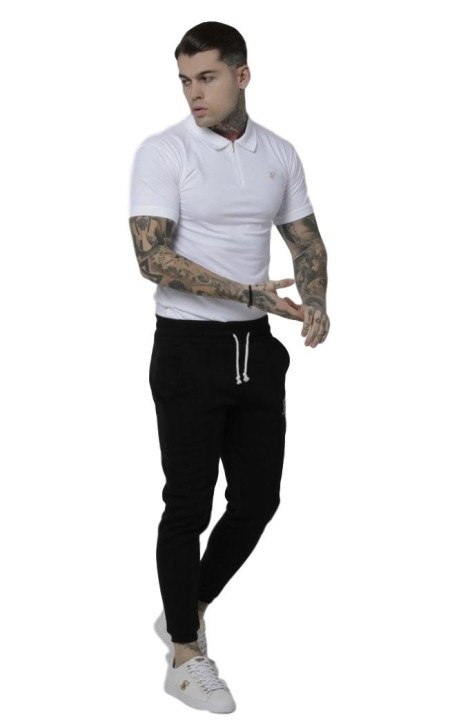 Shirt By SikSilk Technique Contrast Grey Rock