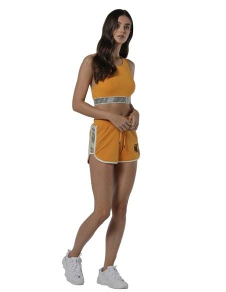 Top SikSilk Runner Bralette Amarillo