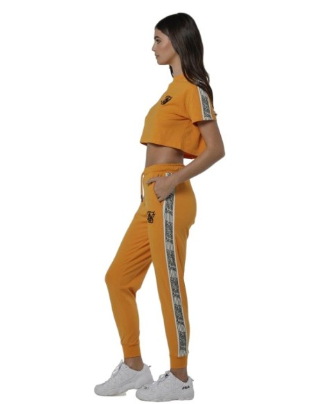 Pantalon SikSilk Shadow Stripe Azul