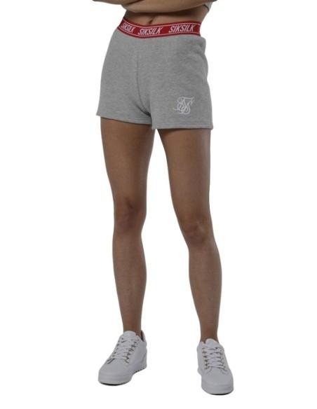 Pantalon Corto SikSilk Gym Gris