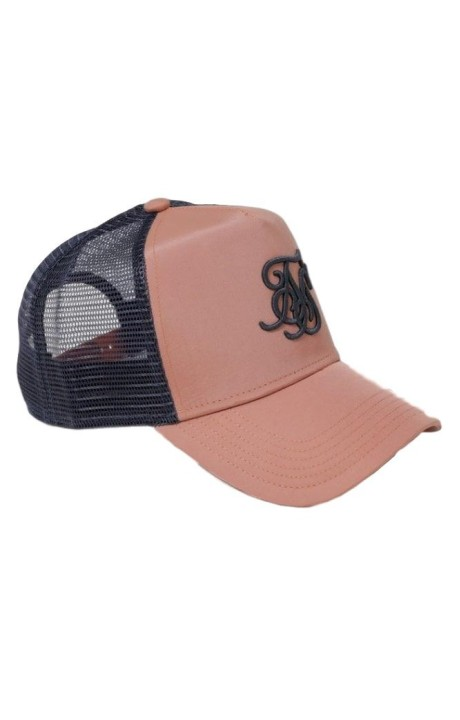 Gorra SikSilk Bent Peak Rosa