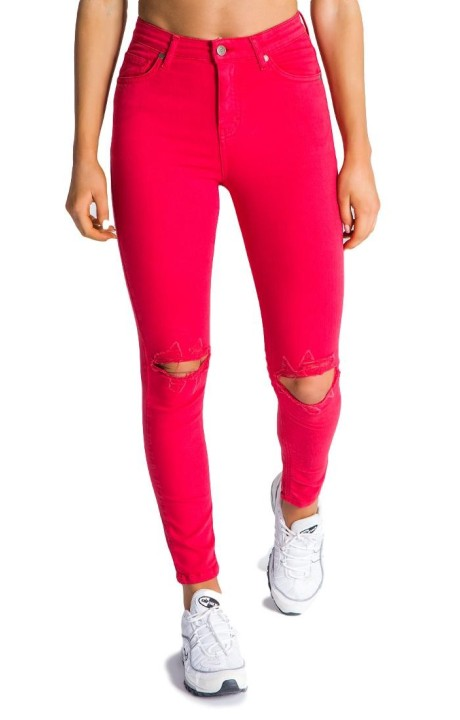 Jeans Gianni Kavanagh Red Torn