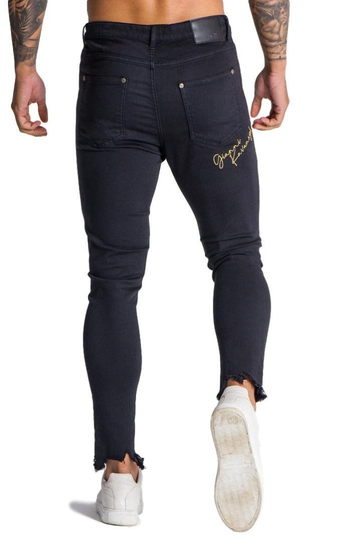 11 Degrees Pantalon de Chandal Odin Skinny Fit Negro