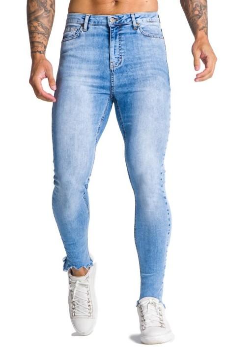 Jeans Gianni Kavanagh azul claro firma GK