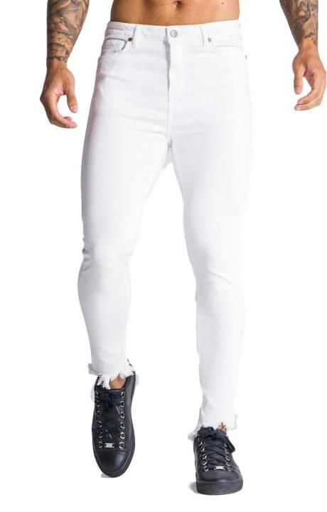 Jeans Gianni Kavanagh blanco firma GK