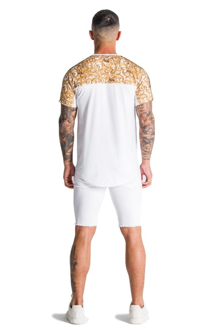 Shirt by SikSilk S/S with Painting by Oil Red
