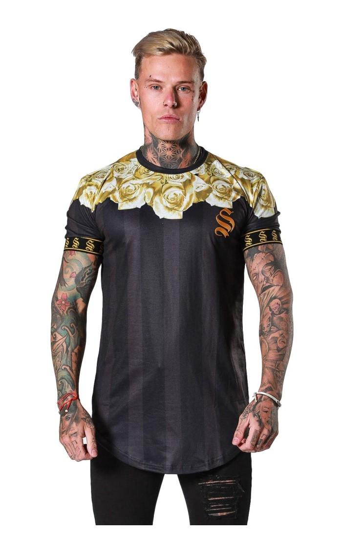 Camiseta SikSilk Jeremy Vine Blanco