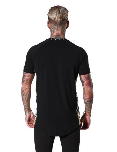 Chemise par SikSilk Jeremy avec roulé manches-Blanc