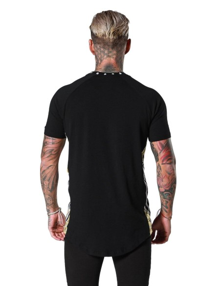 Shirt by SikSilk Jeremy with rolled-up sleeves-White