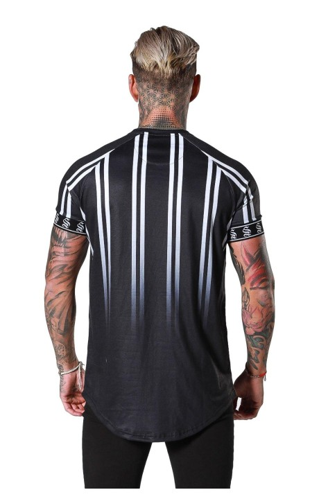 Shirt By SikSilk Black Lion Resort Black