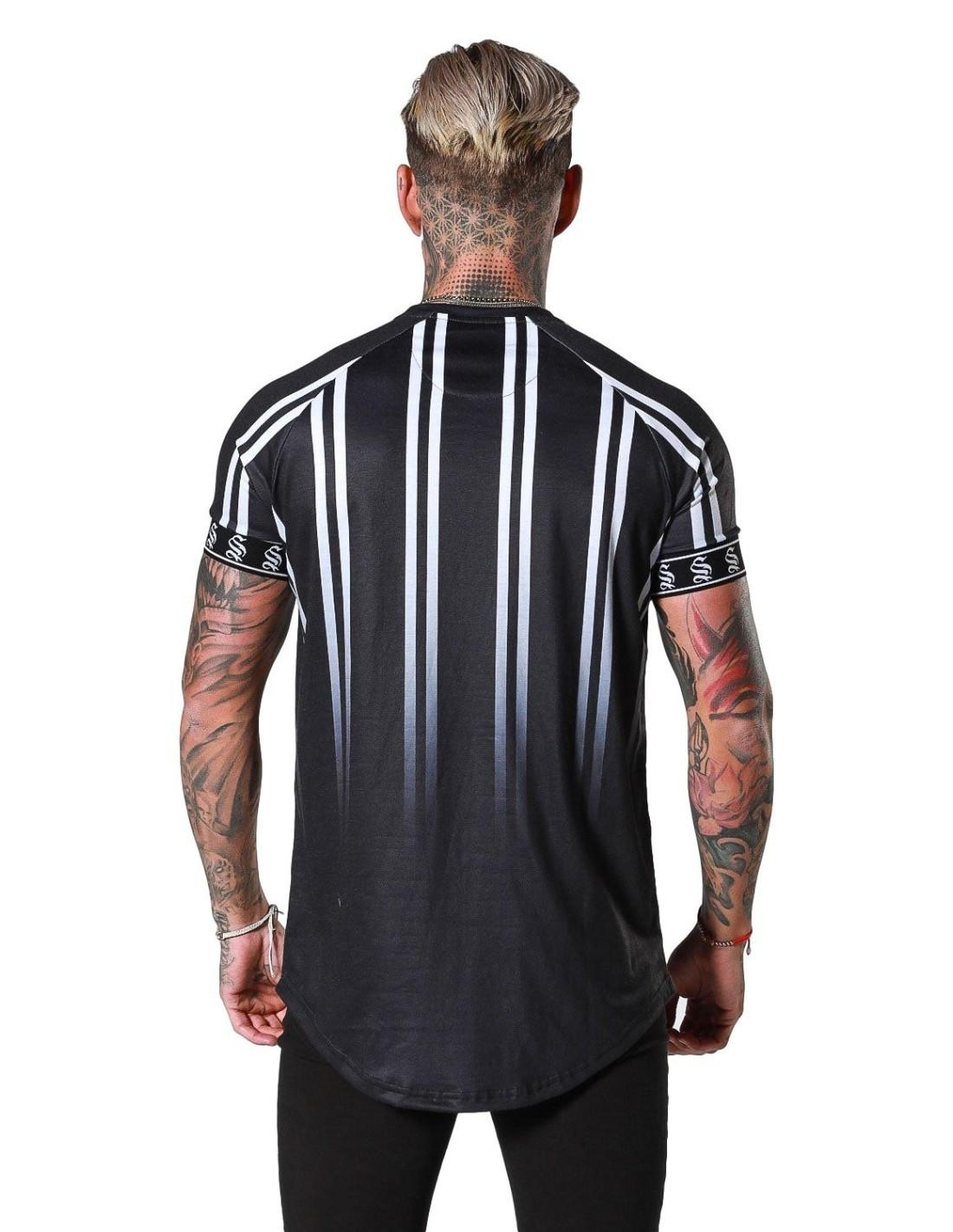 Shirt By SikSilk Black Lion Resort Black