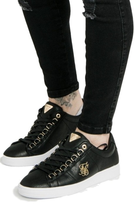 Running shoes SikSilk Prestige Black and Gold