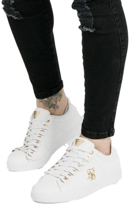 Zapatillas SikSilk Prestige Blanca y Oro