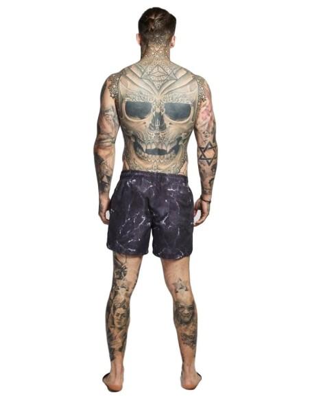 Pantalones Cortos De Baño Estándar SikSilk - Dark Navy