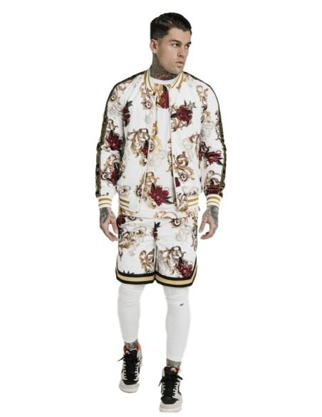 Pantalon Gianni Kavangh Contrasting Detalle Piel Vuelta