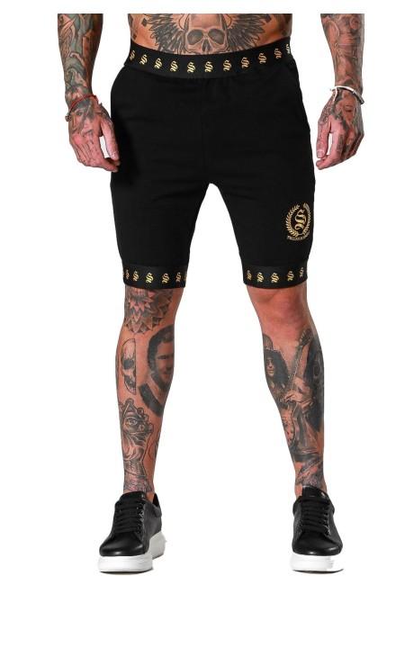 Pantalones Cortos Sinners de cresta negra
