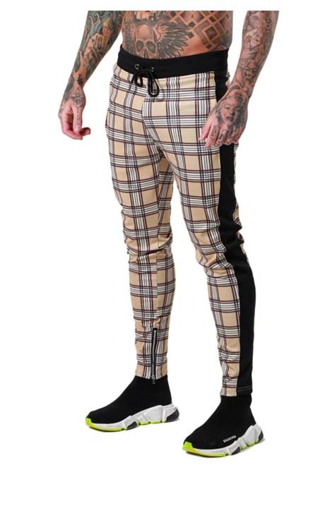 Pantalon Pécheurs de boîtes et de bande latérale noire