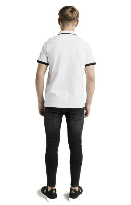 Pantalon Gianni Kavanagh Noir Tartan Britannique