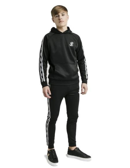 T-shirt Roone Romain Blanc logo noir
