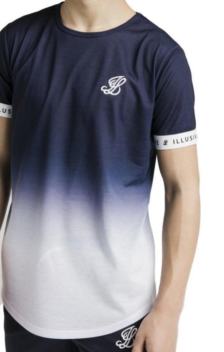 T-shirt Roone Romaine, Blanc de bande-RR contraste