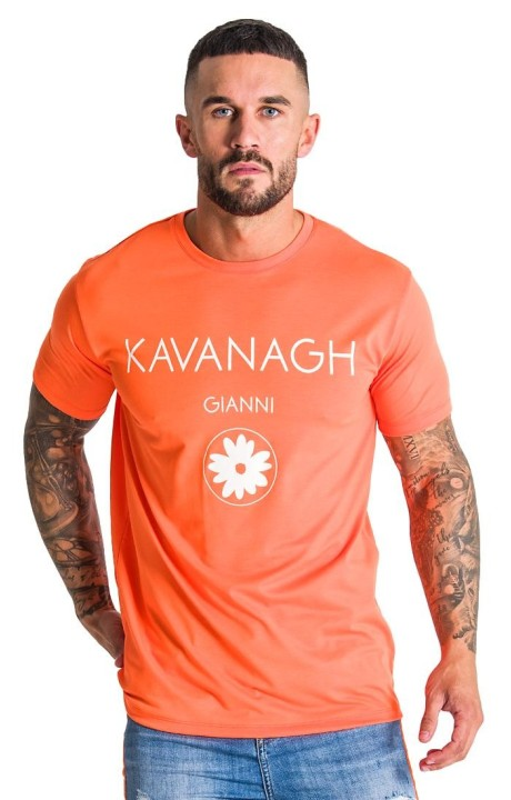Camiseta Gianni Kavanagh Neon Naranja