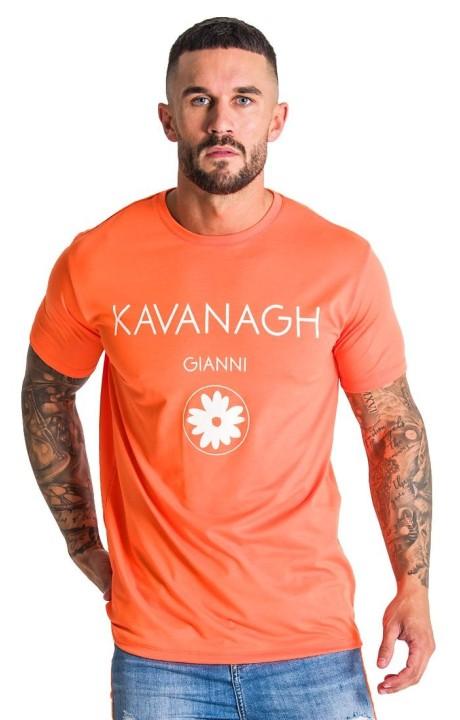 T-Shirt Gianni Kavanagh Neon Orange