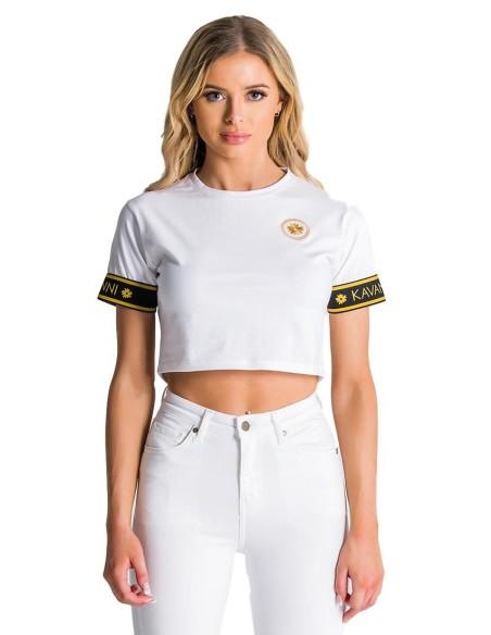 Sweat-shirt avec capuche SikSilk Athena Blanc