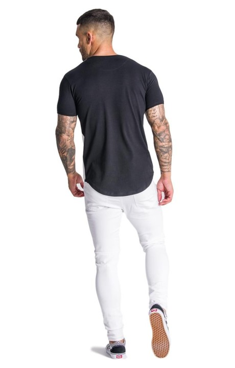Jeans Short SikSilk Poster Black