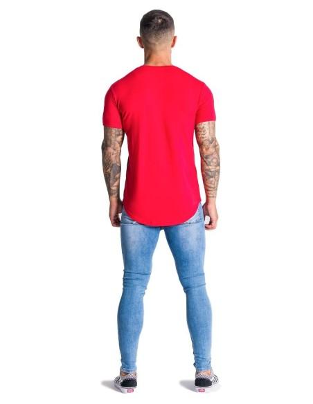 Pantalon Chino court SikSilk Raw Ourlet de la Marine