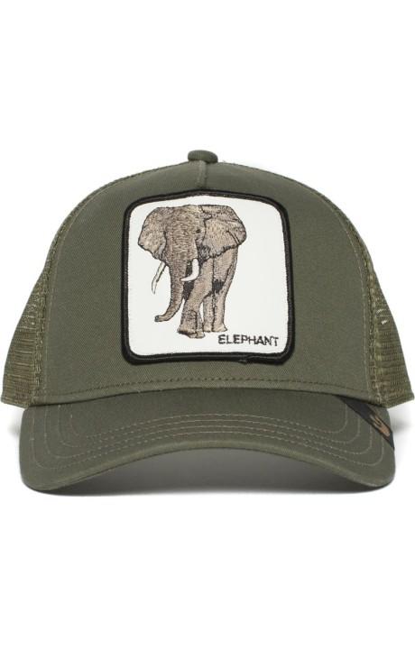 Gorra Truker Goorin Bros Verde Elefante