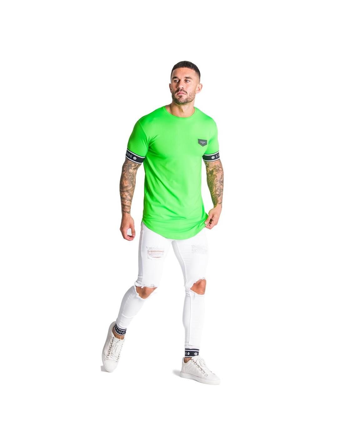 Camiseta SikSilk Sleeve Gym Khaki