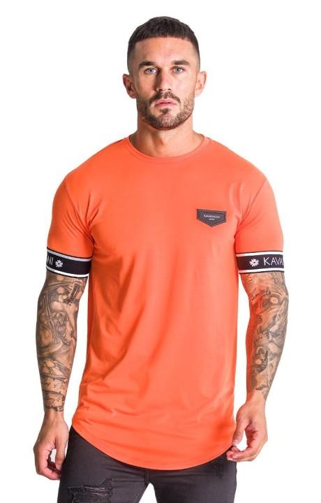 T-shirt Gianni Kavanagh Orange néon élastique GK