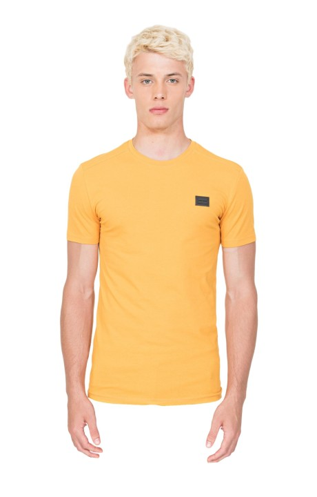 Camiseta Antony Morato Slim Fit Amarillo