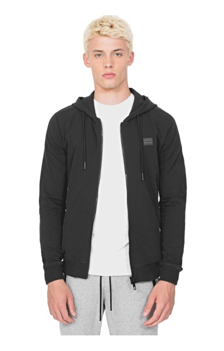 Sweatshirt by Antony Morato in Black with Hood And Zipper