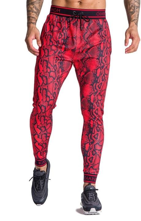 Pantalón Chandal Gianni Kavanagh de serpiente roja
