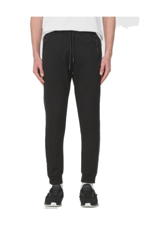Trousers Antony Morato Black with logo side