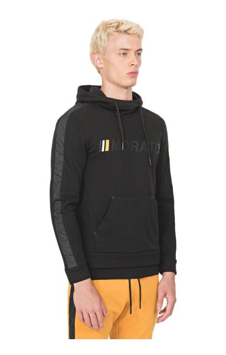 Sweatshirt by Antony Morato in Black with Central Pocket