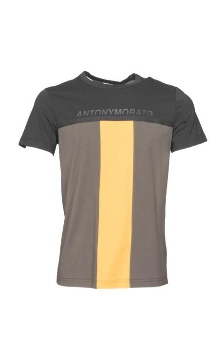 T-shirt Antony Morato avec de la couleur et de contraste d'impression