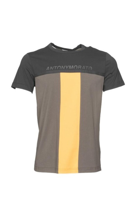 T-shirt by Antony Morato with color and print contrast