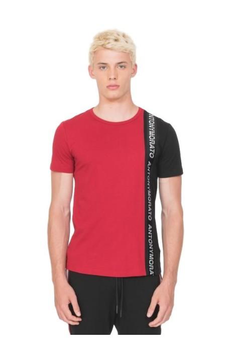 Camiseta Antony Morato con contraste y cinta logo