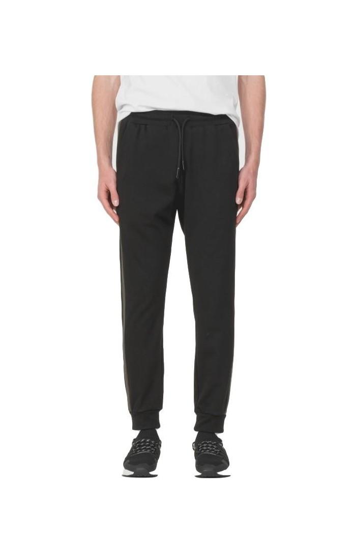 Pantalon Antony Morato Noir avec sangle et la couleur de contraste