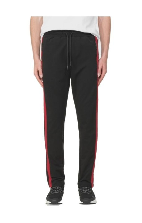 Trousers Antony Morato Black with line and logo side