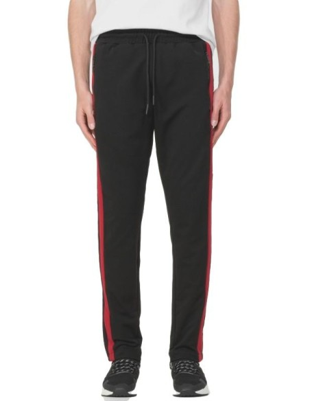Pantalon SikSilk Tape Trails Runner Blanco