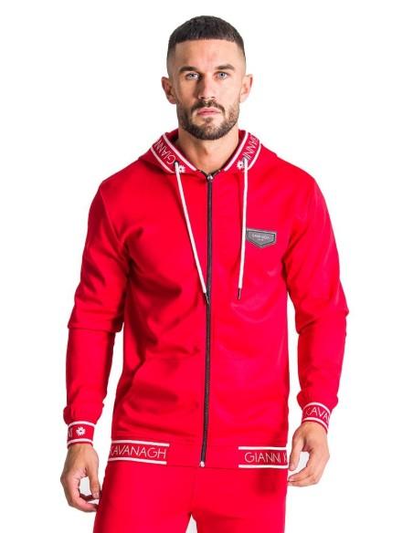 Chaqueta De Chandal Gianni Kavanagh roja con elástico rojo GK
