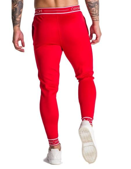 Pantalon de chandal Gianni Kavanagh rojo con elástico GK