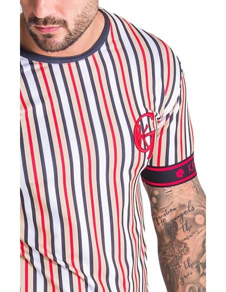 Camiseta SikSilk Tape Trials Gym Morado