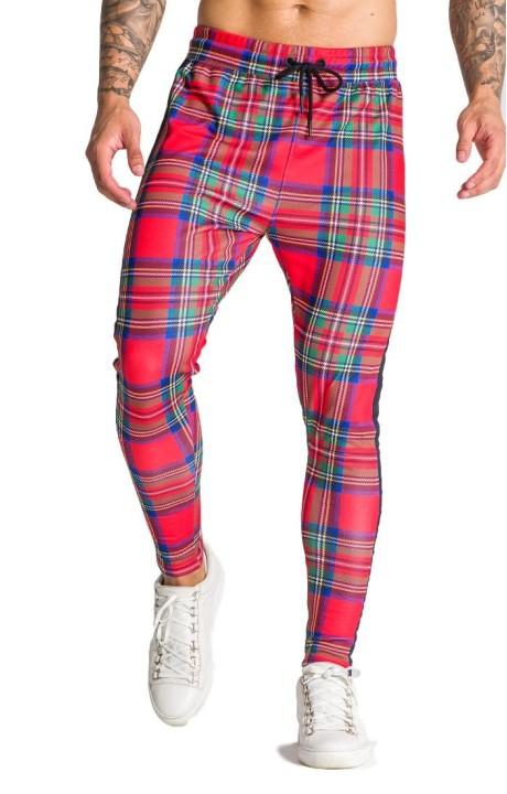 Pantalones Gianni Kavanagh de tartán escocés GK