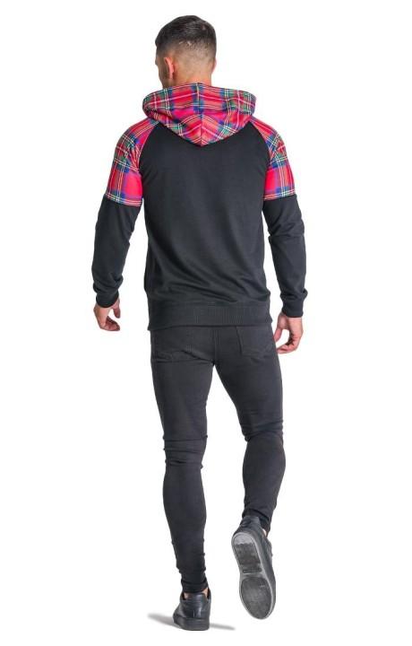 Pantalon SikSilk Élastique Poly Rouge