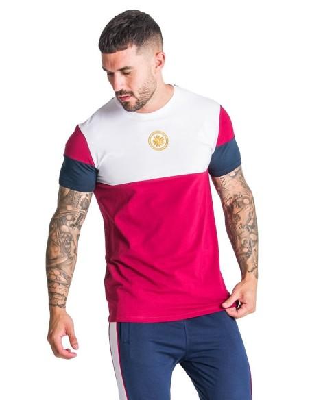 T-Shirt Gianni Kavanagh Royalty Block Bordeaux