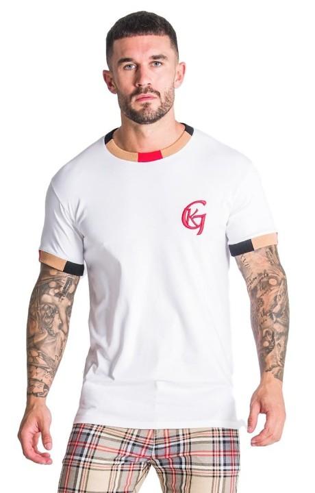 T-shirt Gianni Kavanagh Blanc de la vieille école